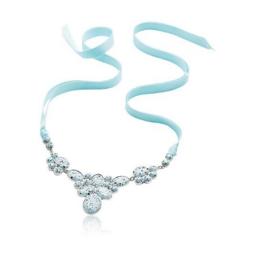 Ожерелье на ленте (29886)