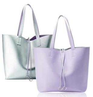 Двусторонняя сумка-шопер (29858)